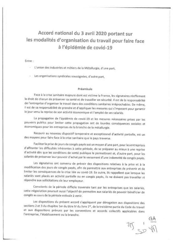thumbnail of Accord-national-du-3-avril-2020-portant-sur-les-modalités-dorganisation-du-travail-pour-faire-face-à-lépidémie-de-covid-19-signé